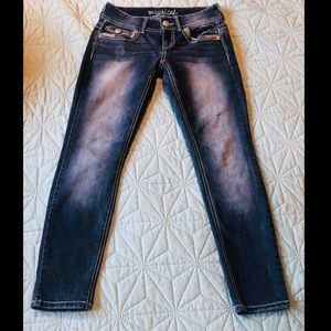 Maurices skinny jeans with stretch size 1 / 2